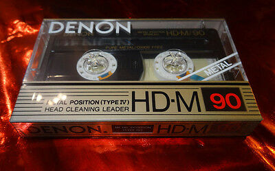 DENON HD-M 90 Metal  Audio Tape from 1988 - Sammlerzustand sealed OVP