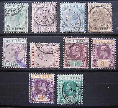 ST. LUCIA lot used