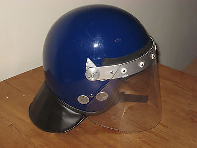 Obsolete Police / Security Riot Helmet - Size Large - Cromwell - The Argus