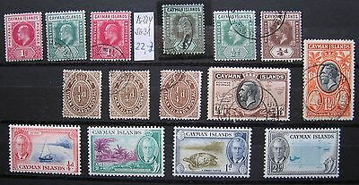 CAYMAN ISLANDS, lot used, MH