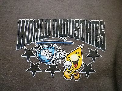World Industries Vintage Hoodie (M) - Flame Boy & Wet Willy - *extremely Rare*