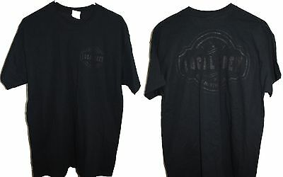 Dave Matthews Band 2014 Tour Local Crew T-Shrit Large Black Lettering