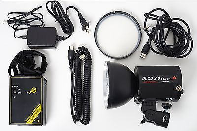 Cononmark DLCD2.0 GN72 200Ws Strobe / Flash Kit with battery and bag (US plug)