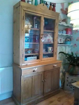 Kitchen Dresser Pine/oak Vintage
