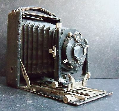 Early 19Oo'S German Double Extension Bellows Camera