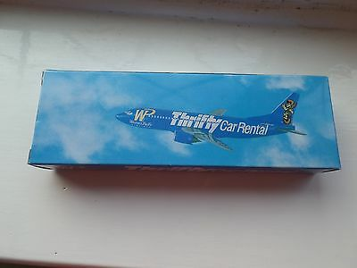 Wp Western Pacific - Thrifty Car Rental - Plane Model - Boeing 737 - Boxed