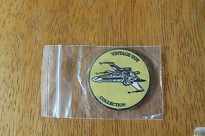 X-WING FIGHTER coin MEDALLION Collecting Track Celebration Europe 2016 Star Wars