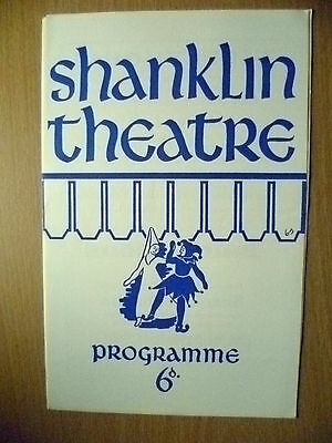 SHANKLIN THEATRE PROGRAMME 1969- MURDER AT THE VICARAGE by AGATHA CHRISTIE