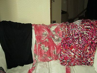 Bundle of 4 tops - nice used condition ( one new) - size 20/22