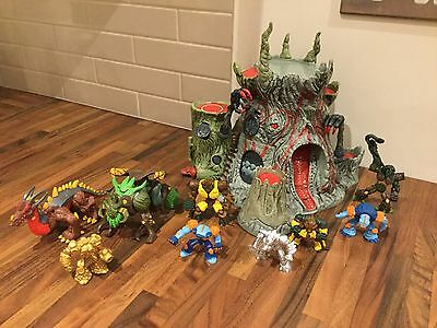 Gormiti Volcano and Action Gormiti Figures and Monsters Playset