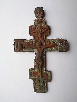 Russian Empire ancient orthodox large clergy cross ca 18-19 AD original