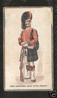 HILL - Types of the British Army (Verbena Back) - 1914 - No.12 - High Value Card