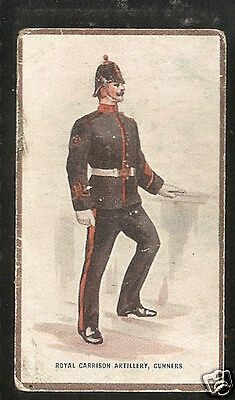 HILL - Types of the British Army (Verbena Back) - 1914 - No.17 - High Value Card
