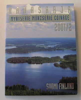 Finland 2001 / 2 Official Coin Mint Set KMS UNC High Condition!!!