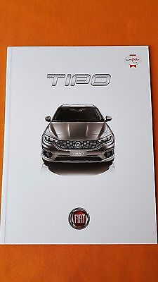 Fiat Tipo Easy Plus Lounge official marketing paper brochure September 2016 MINT