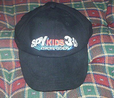 NEVER WORN Robert Rodriguez Movie SPY KIDS 3-D GAME OVER cap One Size Fits All