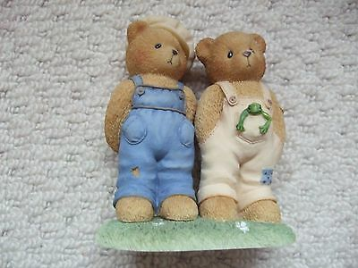Cherished Teddies - Ernest & Bugsy 'looks Like Trouble Is Just Around The Corner