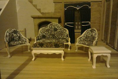dolls house lounge furniture, 12th scale