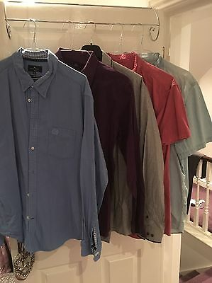 x5 Mixed Branded Men's Shirts (size XL)