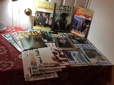 CSI Serial + Comic Collection all Very Good Condition , 22 in Sets