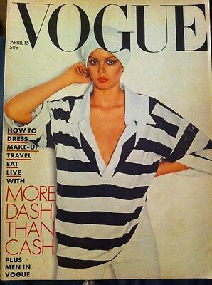 VOGUE Magazine April 15th 1976