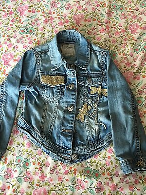 Girls Next Denim Jacket Age 5-6