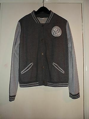 Girls Tammy Grey Baseball Jacket