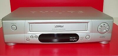 Philips Vr170 Vhs Video Recorder Video Player