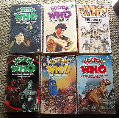 9 DOCTOR WHO  TARGET BOOKS 1970s  7 1st issues