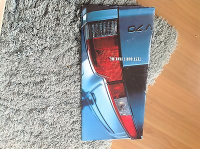 Volvo V70 Launch Brochure 2000