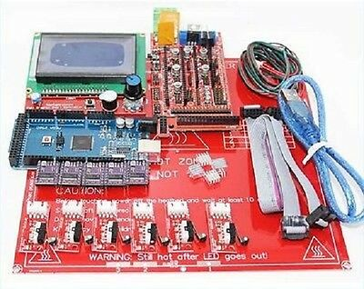 Ramps 1.4 + Mega 2560 + Heatbed mk2b + 12864 LCD + A4988 + Mechanical Endstop