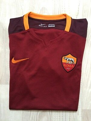 Mens Nike Roma Football Shirt Medium Dri Fit Rrp £65