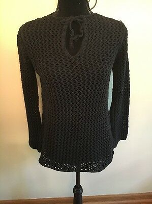 Old Navy Maternity Black Sweater, Size Small.