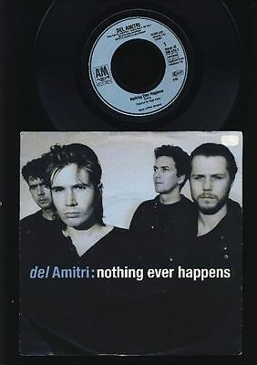 Del Amitri - Nothing Ever Happens - No Holding On - 7 Inch Vinyl - HOLLAND