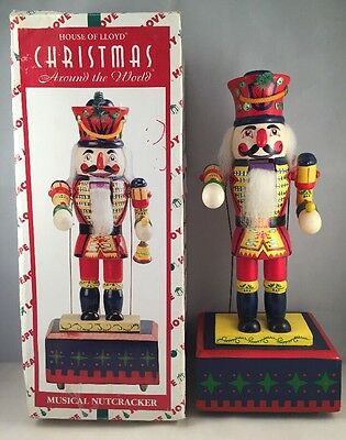 1996 House of Lloyd Musical Moving Nutcracker ~ Christmas Soldier
