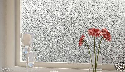 90 CM x 3 M - Watermarks Reapply/Reusable Static Frosted Window Glass Film