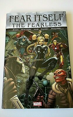 Marvel fear itself: the fearless   hardcover graphic novel