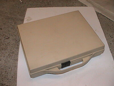 Retro Cassette Case Holds 36 Tapes K7,  In Beige from the 1980's