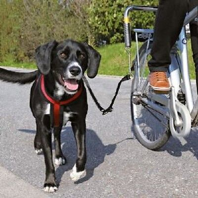 Trixie Biker Set de Luxe for Large Heavy Dogs Dog Lead Harness Bike Bicycle