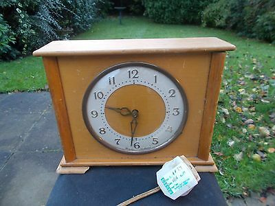 Vintage Westclox Electric Mantle Clock, G.W.O.