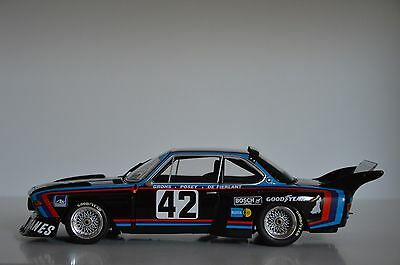 1:18 BMW 3.5 CSL Le Mans 1976 Gitanes Group 5 Minichamps