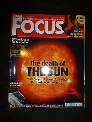 BBC, Focus, The worlds best science and technology magazine, march 2007