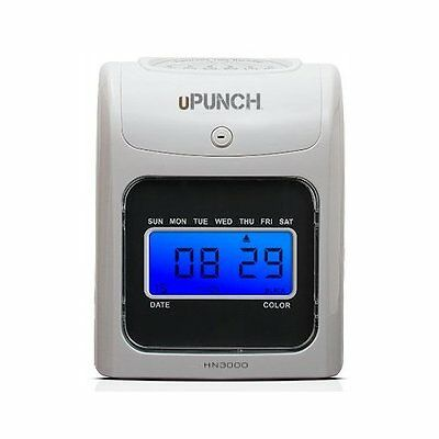 Uattend: Upunch HN3000 Electronic Time Clock Very Good