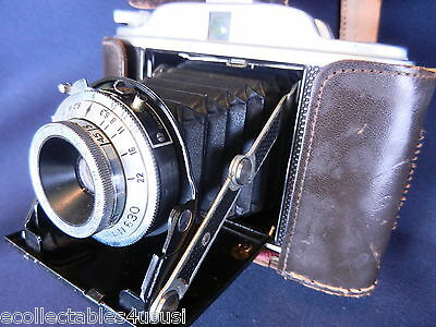 Gb Kershaw Camera Kershaw 630 1954-57 Great Vintage Condition +  Leather Case