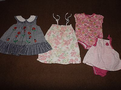 Baby Girl Clothes size 12 - 12/18 months Spring/Summer Lot of 4