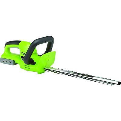 """Earthwise LHT12020 20"""" 20-Volt Lithium-Ion Cordless Electric Hedge Trimmer"""