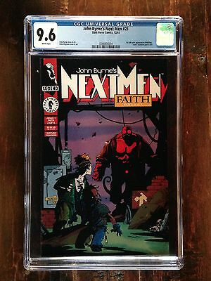 Next Men #21 CGC 9.6 - 1st Full Color Appearance of Hellboy!  New Style CGC Case
