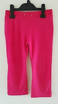 Lovely Young Dimension Girls Pink Joggers Tracksuit Bottoms Size 4-5 Years *GUC*