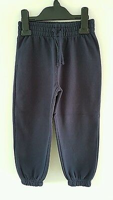 *BNWOT* Practical TU Girls Navy Blue Joggers Tracksuit Bottoms Size 5 Years