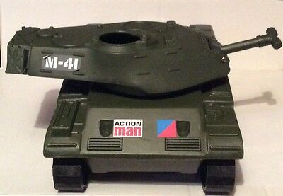 VINTAGE ACTION MAN M41 Tank by Palitoy.
